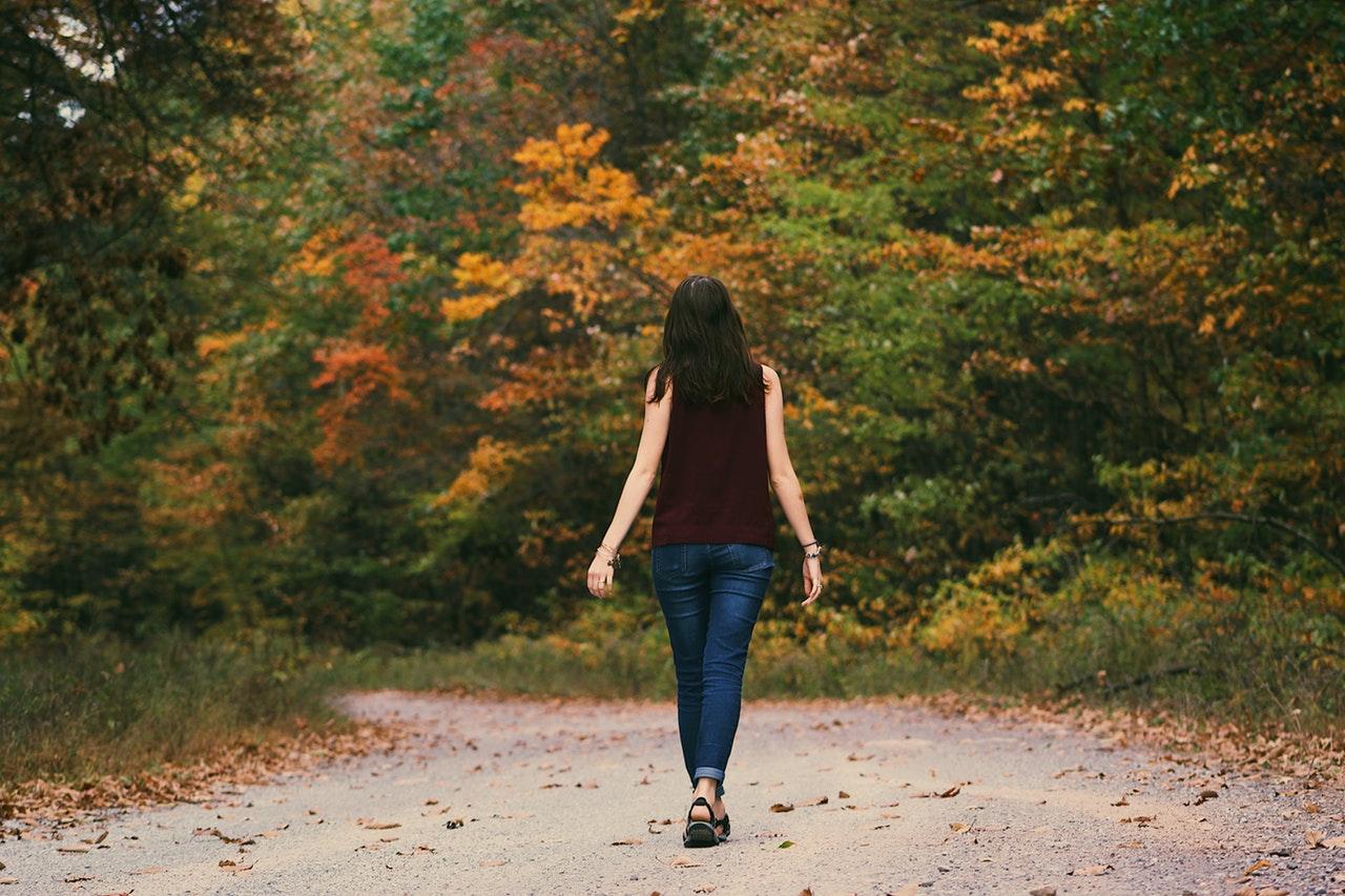 Promenader är en skonsam träningsform
